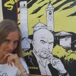 K2_Serravalle Pistoiese_26 luglio 2015_Elisabetta e Manifesto_b