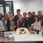 K_Dove il destino non muore_presentazioni_Vigliano biellese_biblioteca_10 novembre 2018_tutti con torta